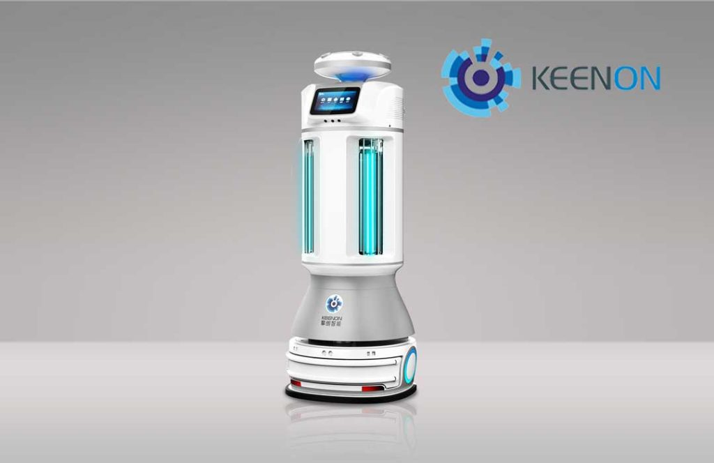 Keeon UVC Disinfection Robot